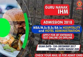 hotel management and JET entrance examination